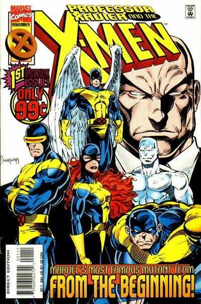 Professor Xavier and the X-Men #1