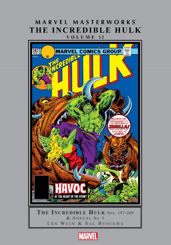 Marvel Masterworks: The Incredible Hulk Vol. 12 HC