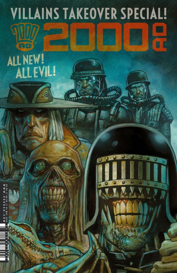 2000 AD Villains Takeover Special #1