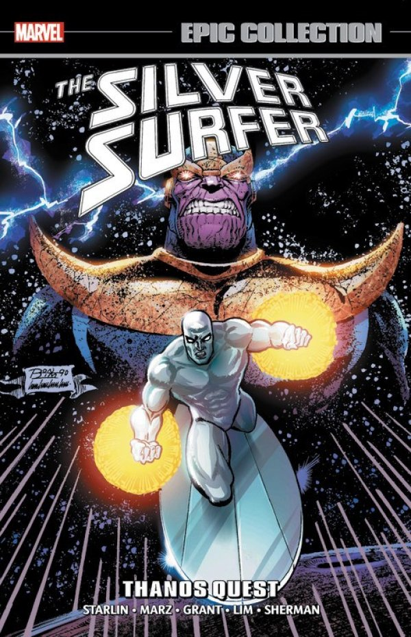 Silver Surfer Epic Collection: Thanos Quest TP