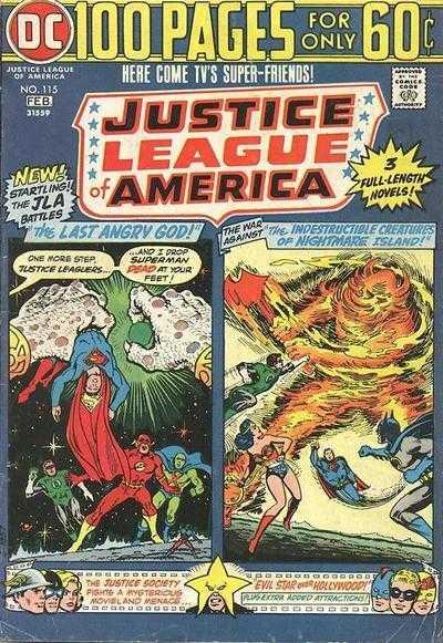 Justice League of America #115