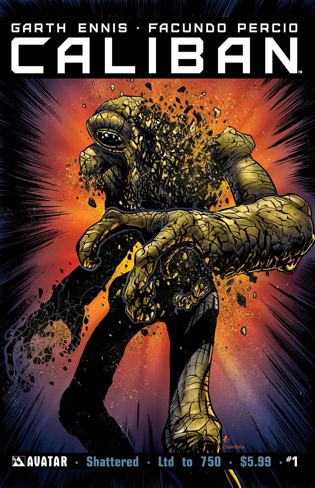 Caliban #1 Shattered Cvr
