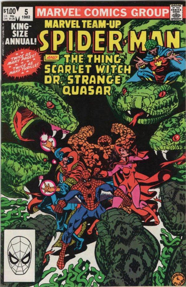 Marvel Team-Up Annual #5