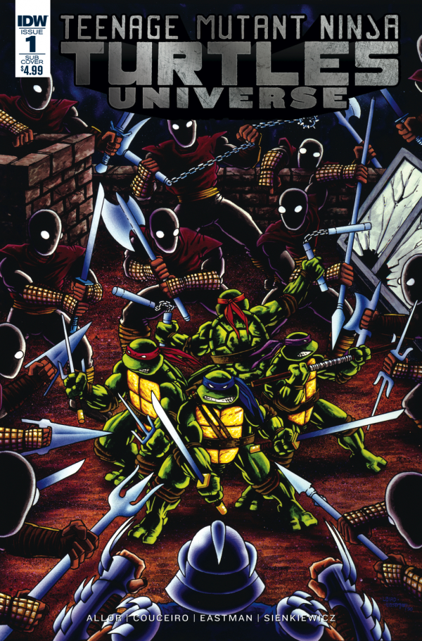 Teenage Mutant Ninja Turtles: Universe #1