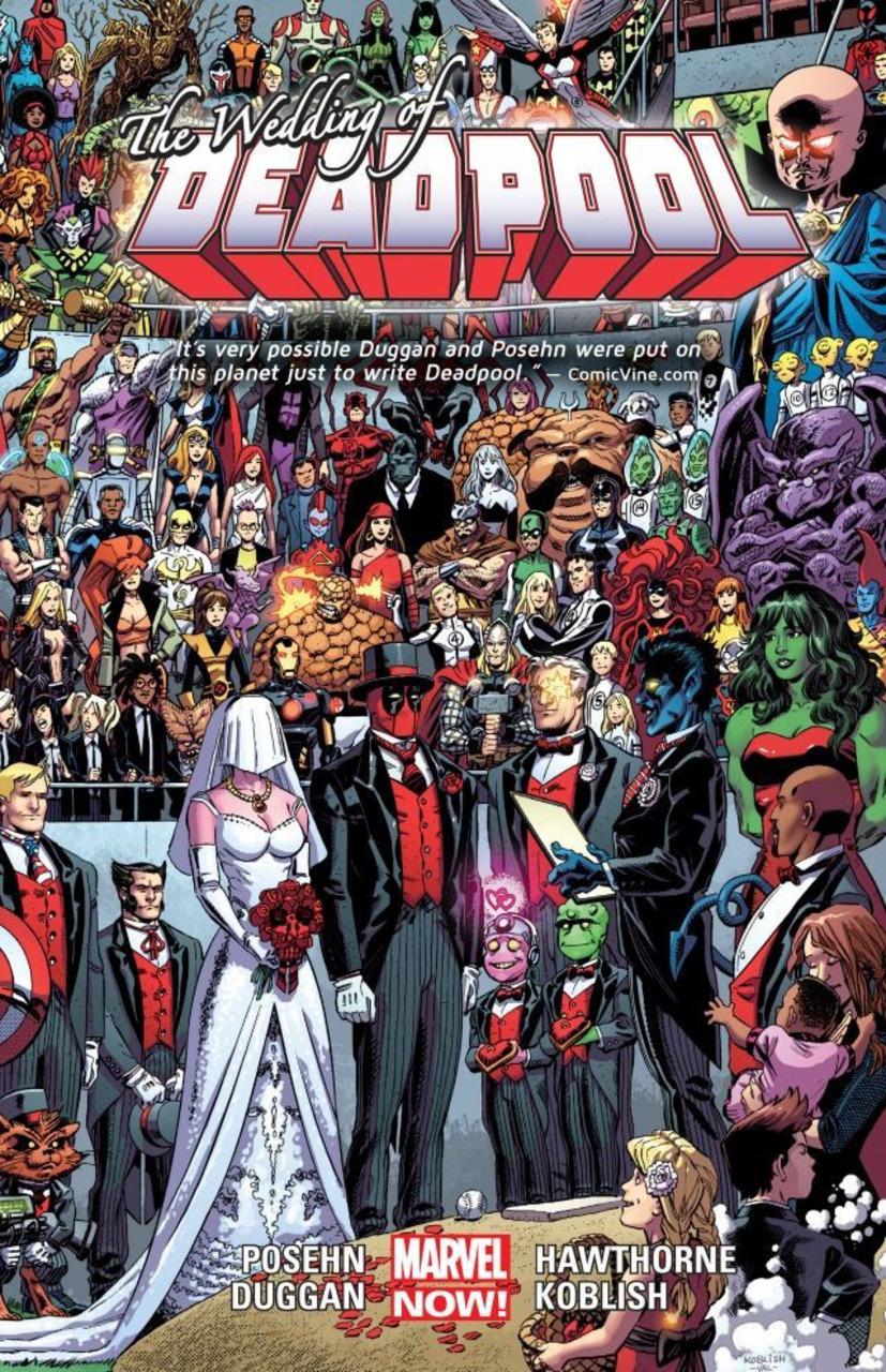 Deadpool Vol. 5: Wedding of Deadpool TP