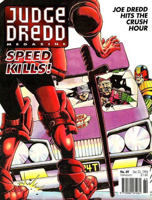 Judge Dredd: The Megazine #69