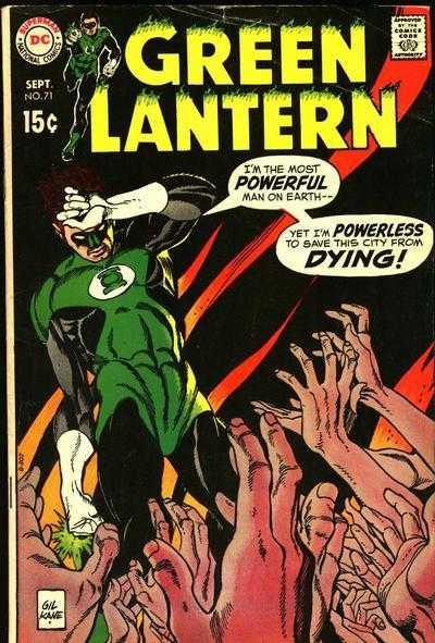 Green Lantern #71