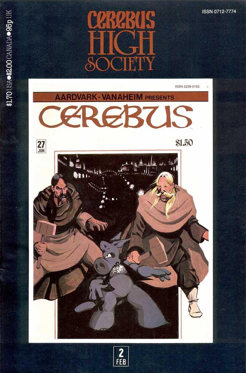 Cerebus High Society #2