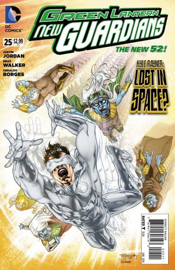 Green Lantern: New Guardians #25