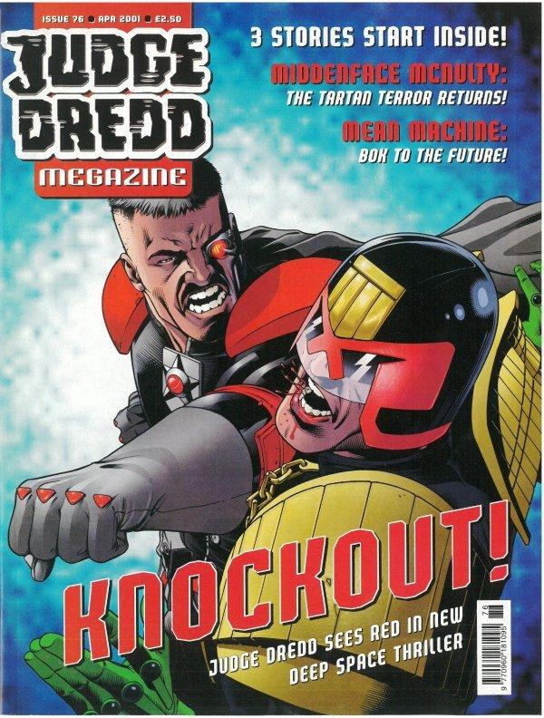 Judge Dredd Megazine #76