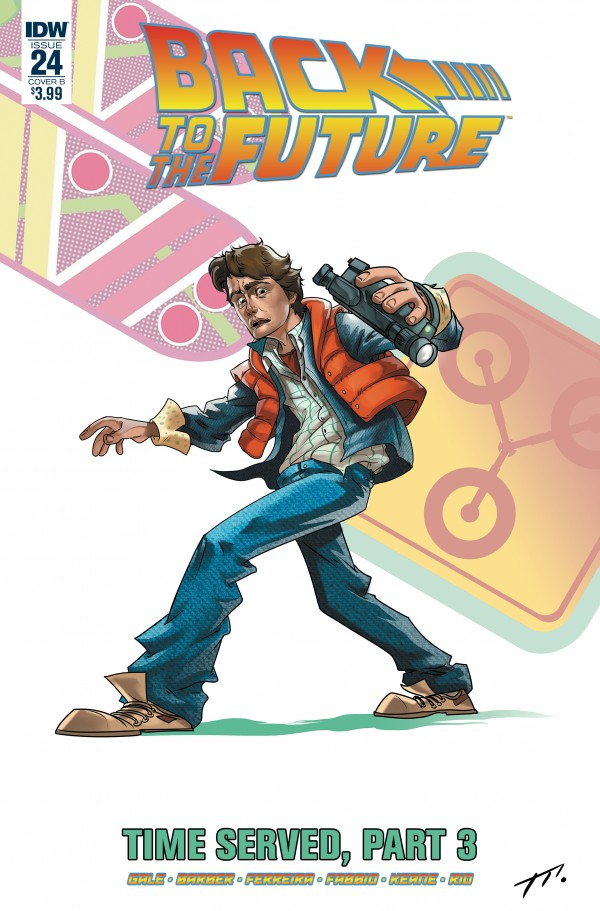 Back to the Future #24 Cover B Montell