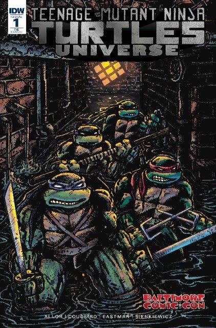 Teenage Mutant Ninja Turtles: Universe #1