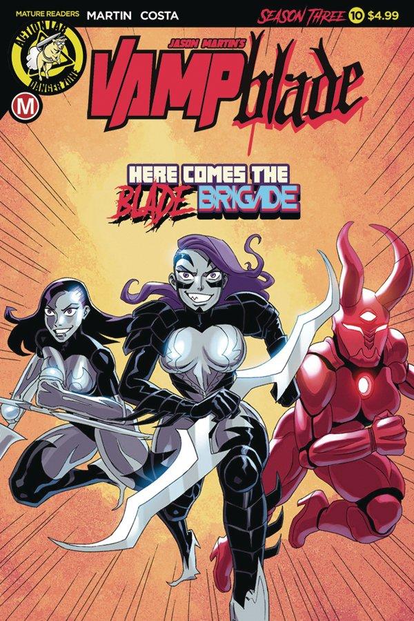 Vampblade: Season 3 #10