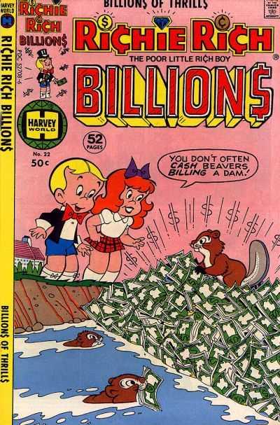 Richie Rich Billions #22