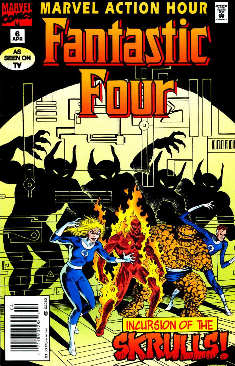 Marvel Action Hour: Fantastic Four #6
