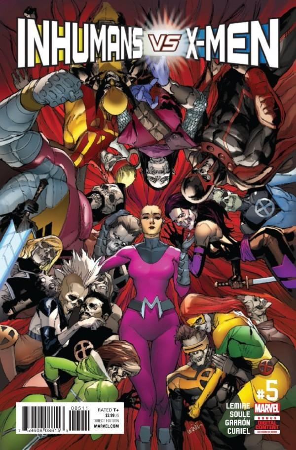 Inhumans vs. X-Men #5