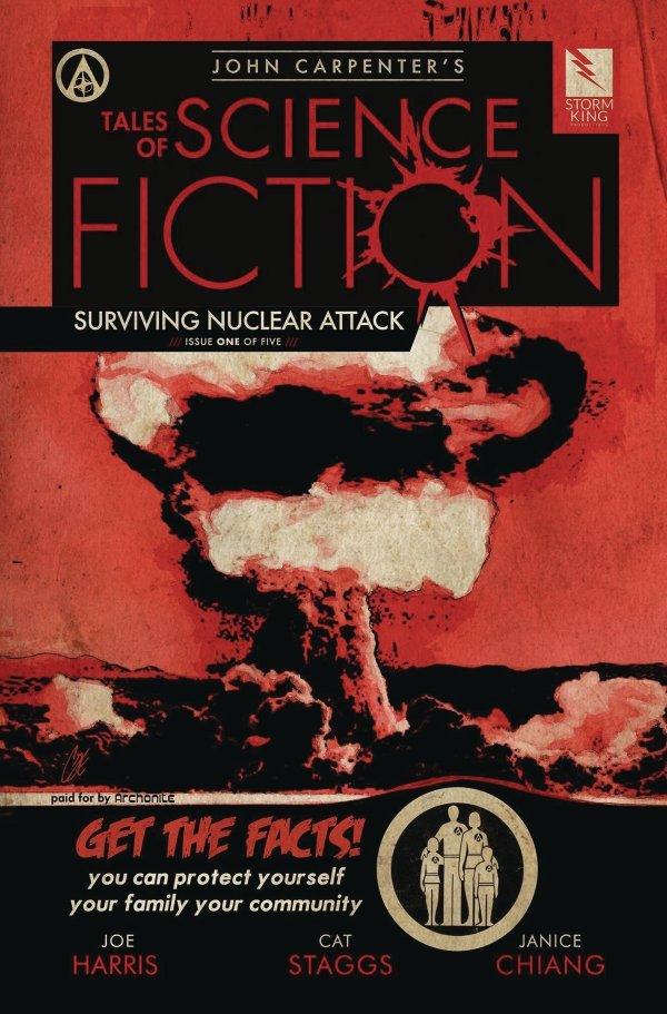 John Carpenter's Tales of Science Fiction: Surviving Nuclear Attack #1