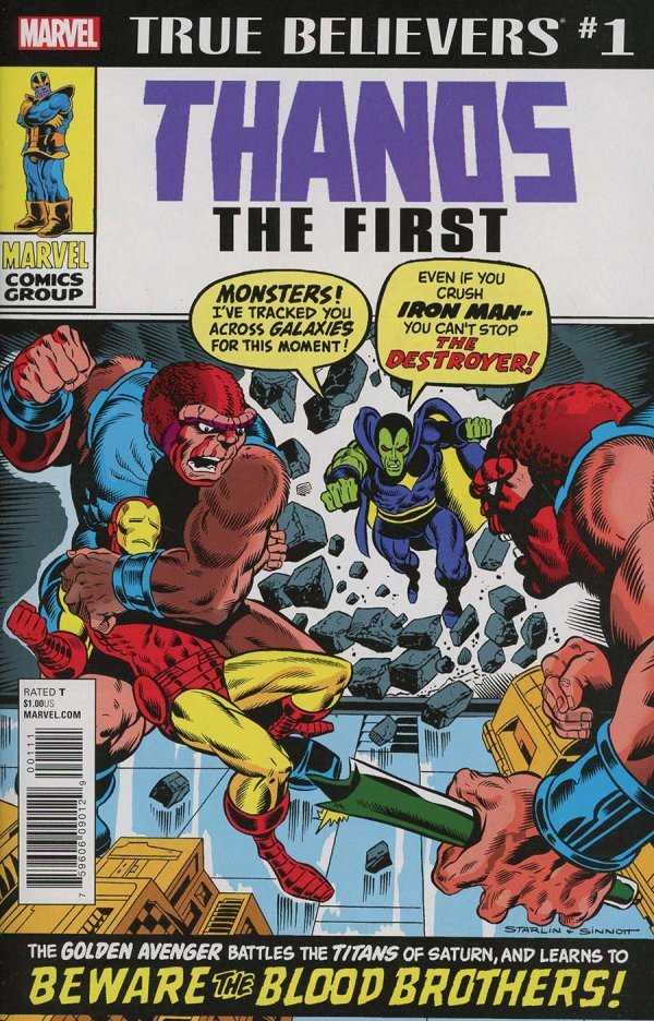 True Believers: Thanos - The First #1