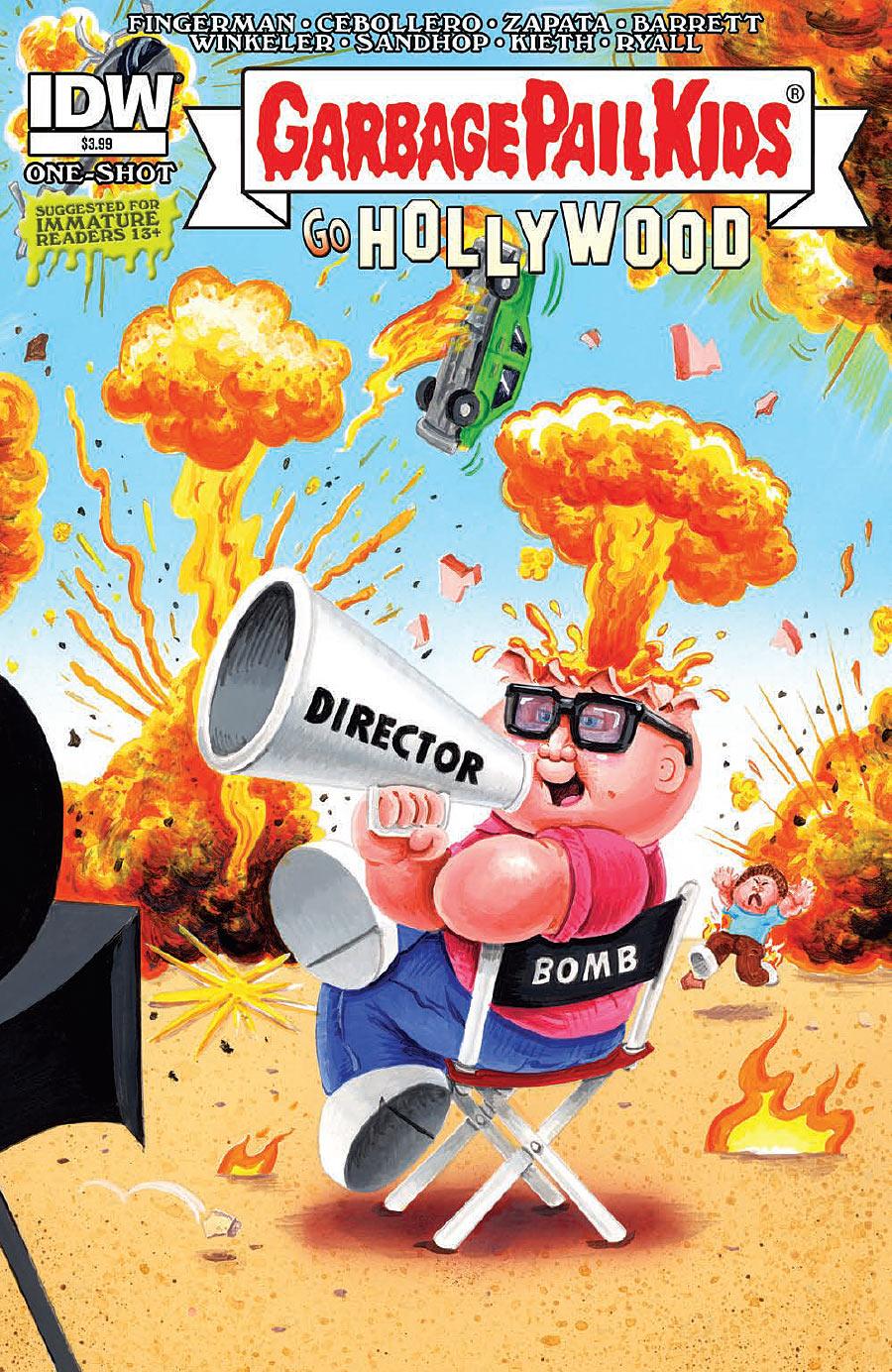 Garbage Pail Kids Go Hollywood #1