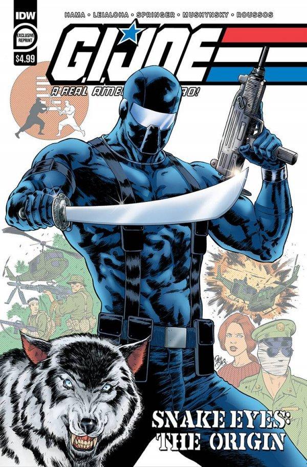 G.I. Joe A Real American Hero : Snake Eyes - Origin #1