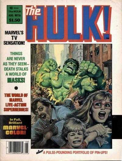 The Rampaging Hulk #16