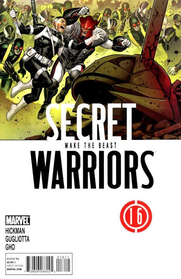 Secret Warriors #16