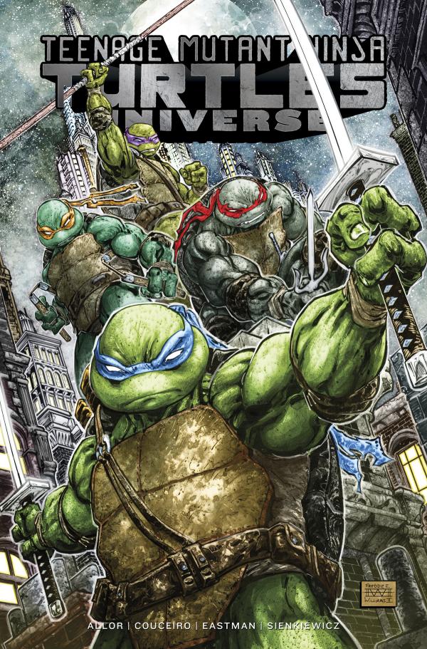 Teenage Mutant Ninja Turtles: Universe Vol. 1 TP