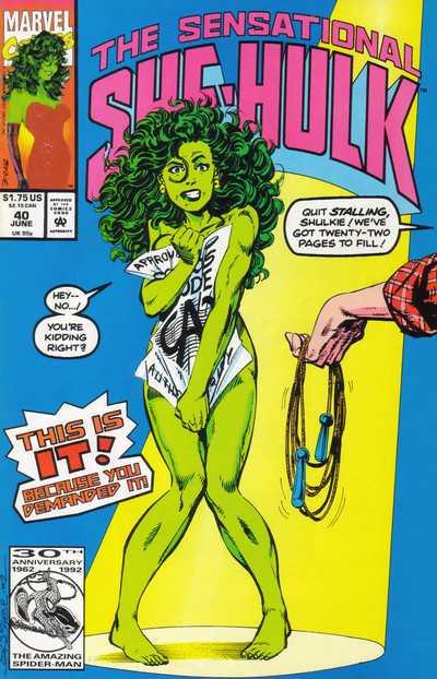 The Sensational She-Hulk #40
