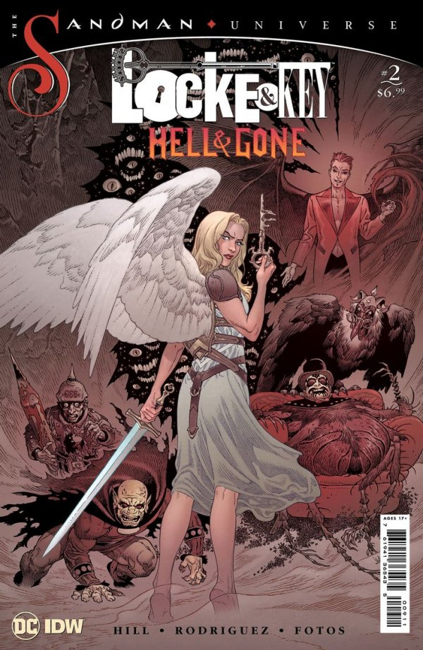 Locke & Key / The Sandman Universe: Hell & Gone #2