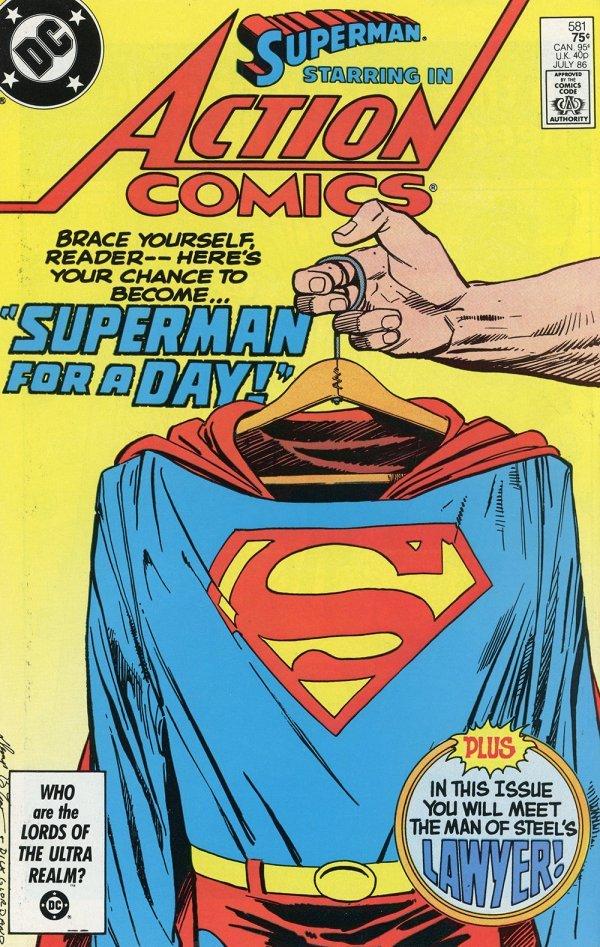 Action Comics #581