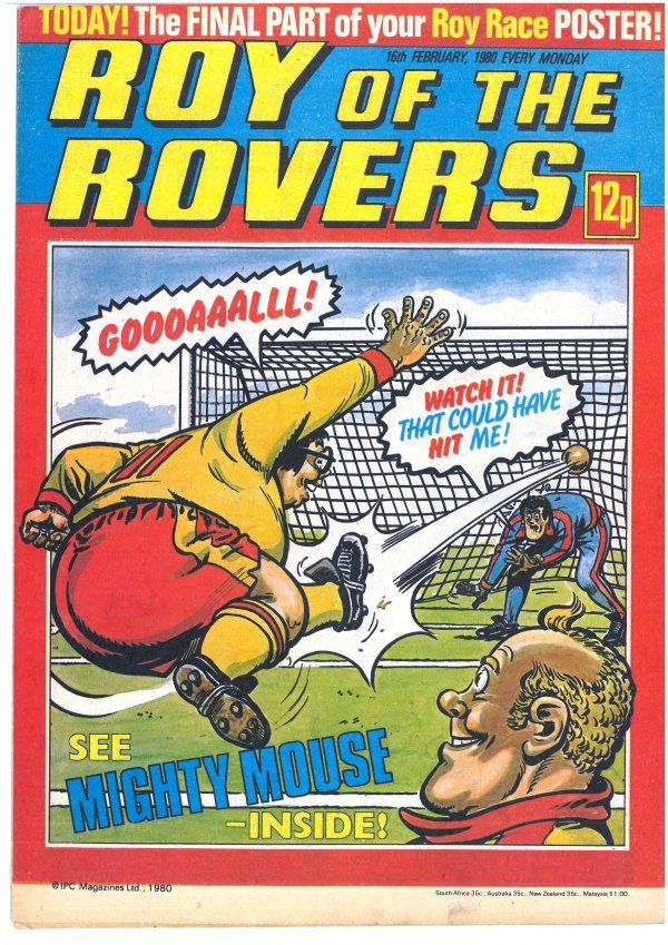 Roy of the Rovers #February 16th, 1980
