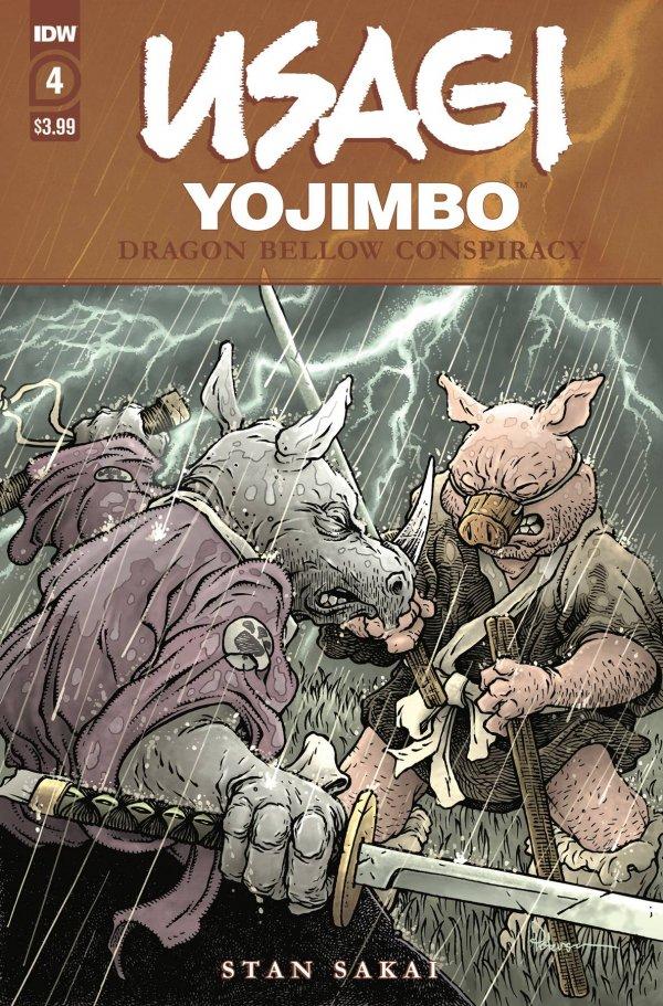 Usagi Yojimbo: Dragon Bellow Conspiracy #4