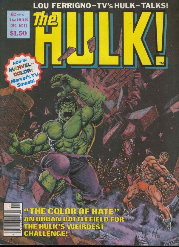 The Rampaging Hulk #12