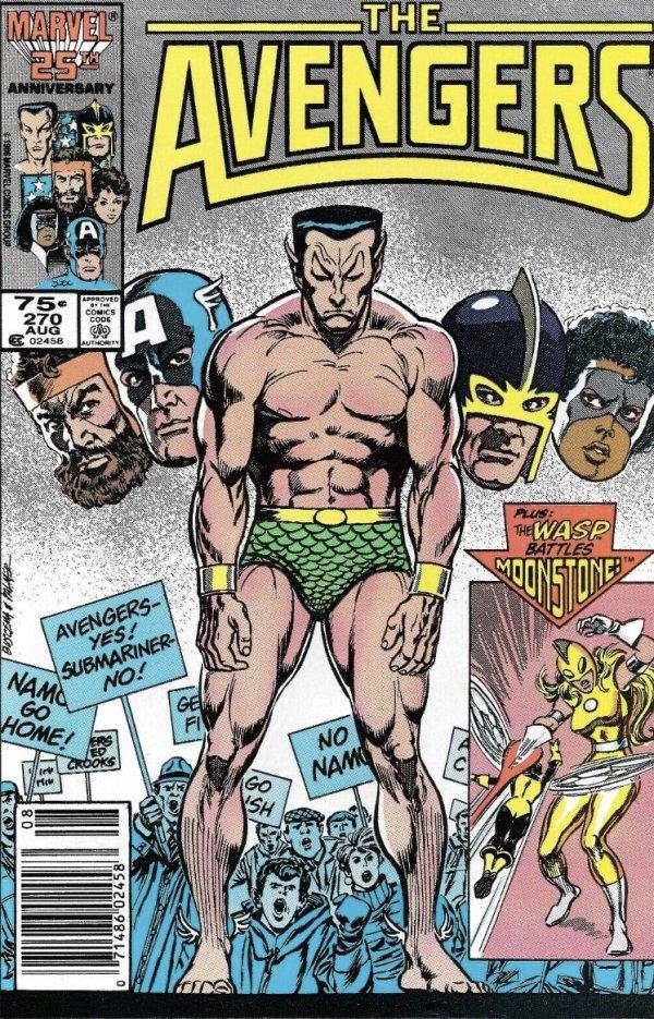 The Avengers #270