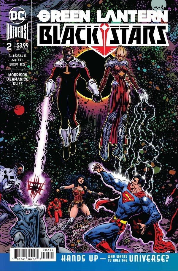Green Lantern: Blackstars #2