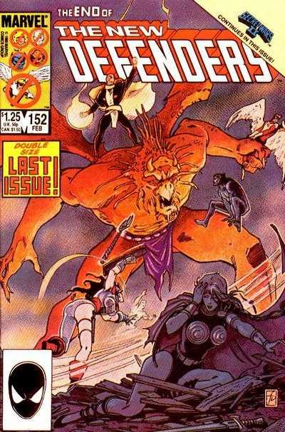 The New Defenders #152