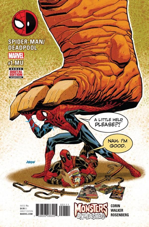 Spider-Man / Deadpool #1.MU