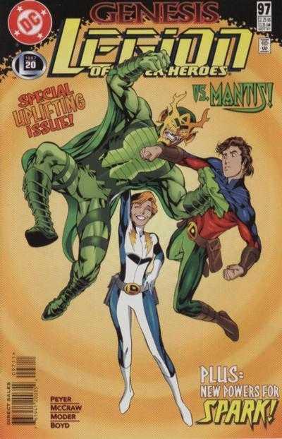 Legion of Super-Heroes #97