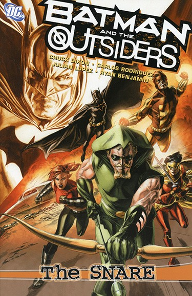 Batman and the Outsiders: The Snare TP
