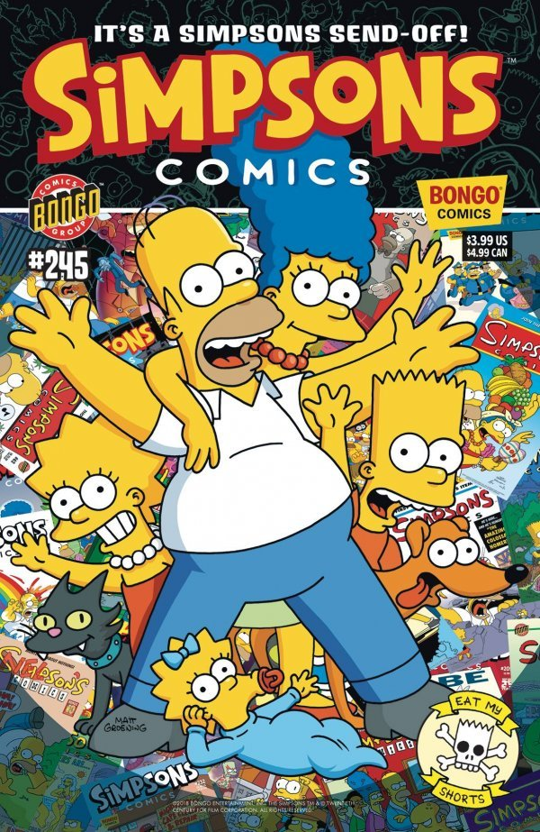 Simpsons Comics #245 review