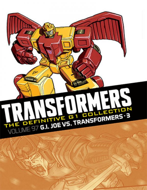 Transformers The Definitive G1 Collection Vol. 097 G.I. Joe Vs. Transformers Part 3