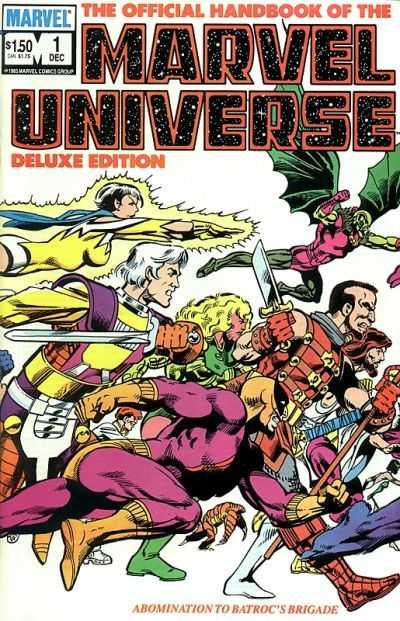 The Official Handbook of the Marvel Universe #1