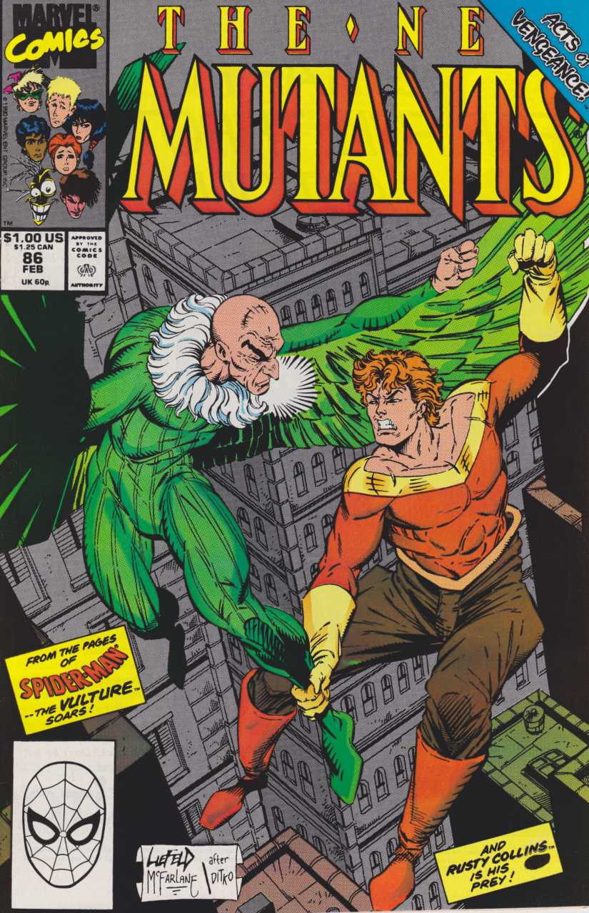 The New Mutants #86