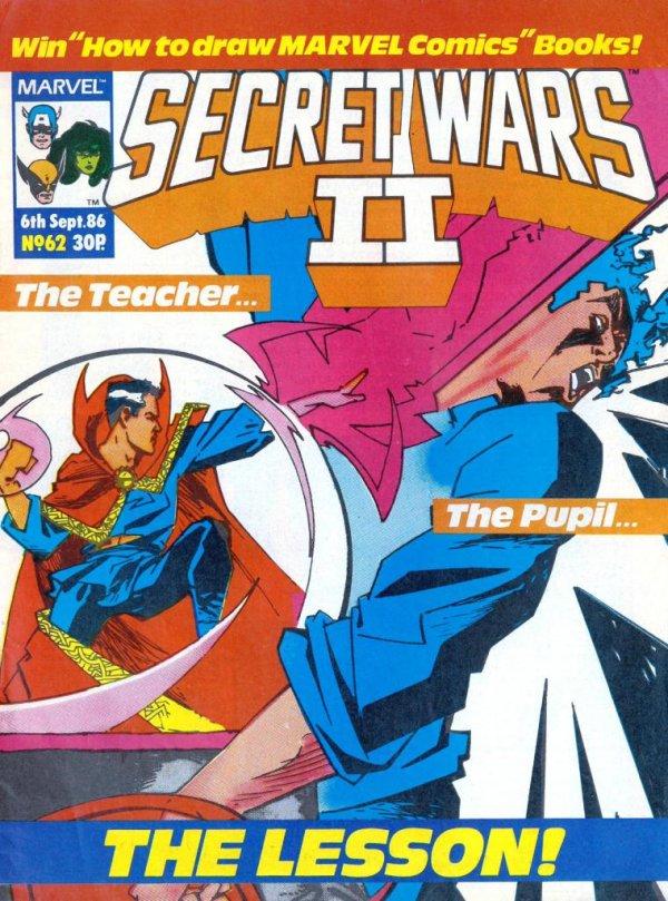 Marvel Super Heroes Secret Wars #62