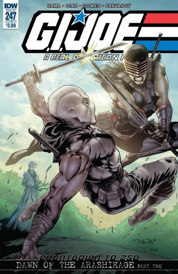 G.I. Joe: A Real American Hero #247