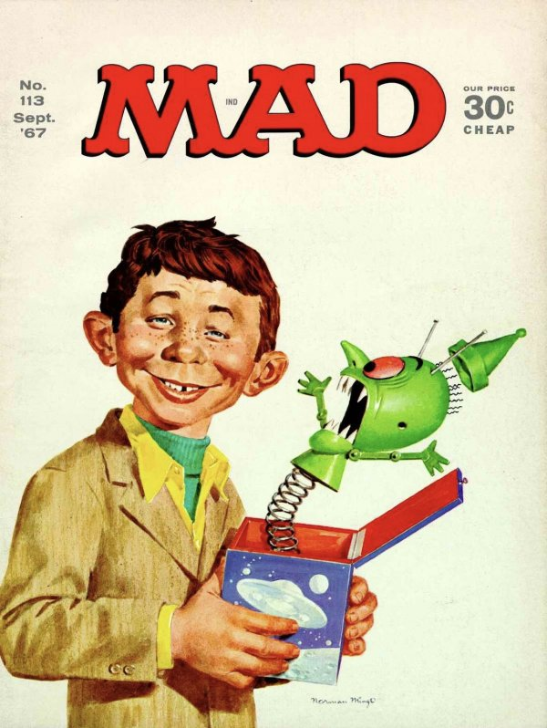 Mad Magazine #113