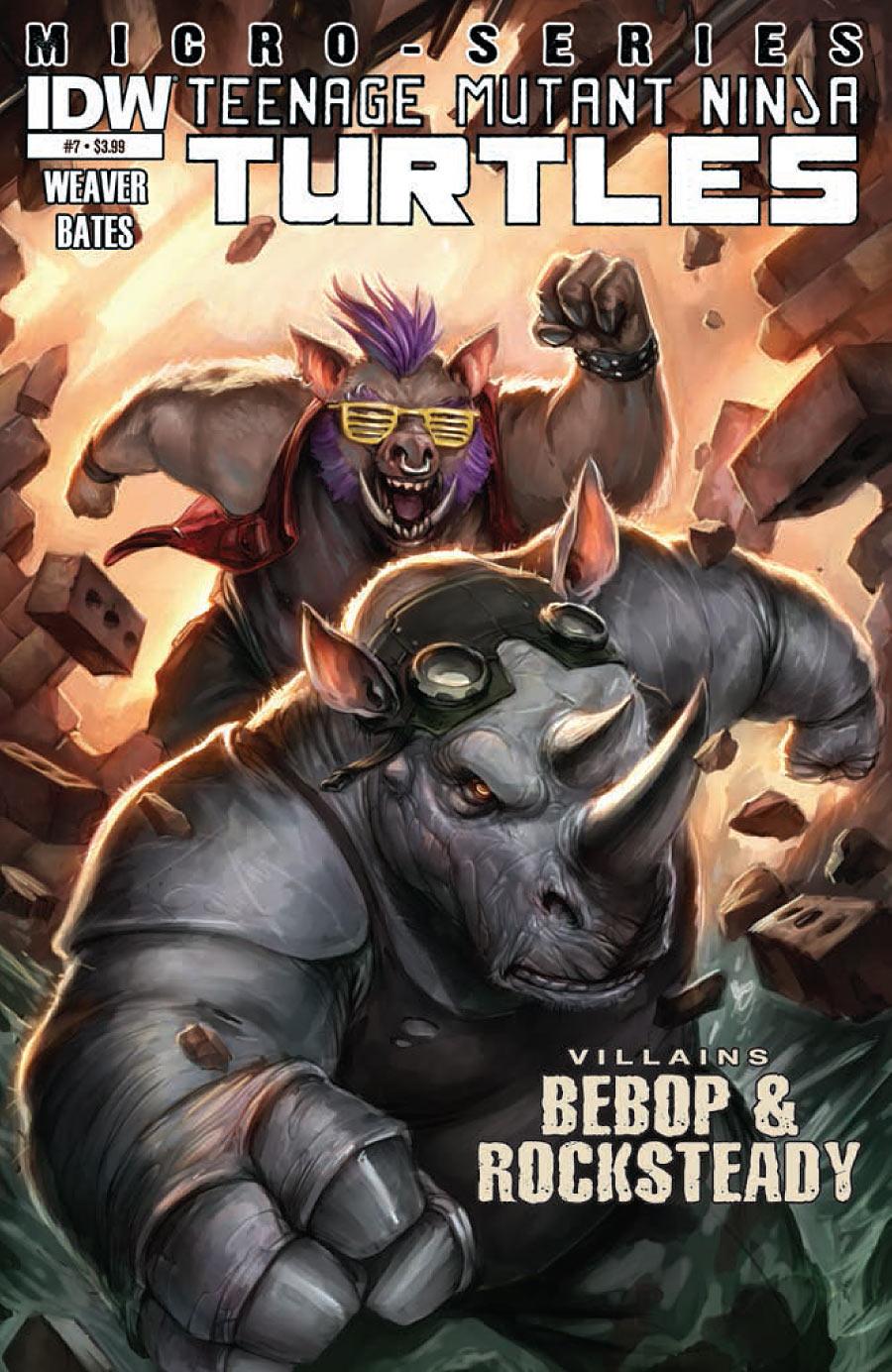 Teenage Mutant Ninja Turtles: Villains Micro-Series #7