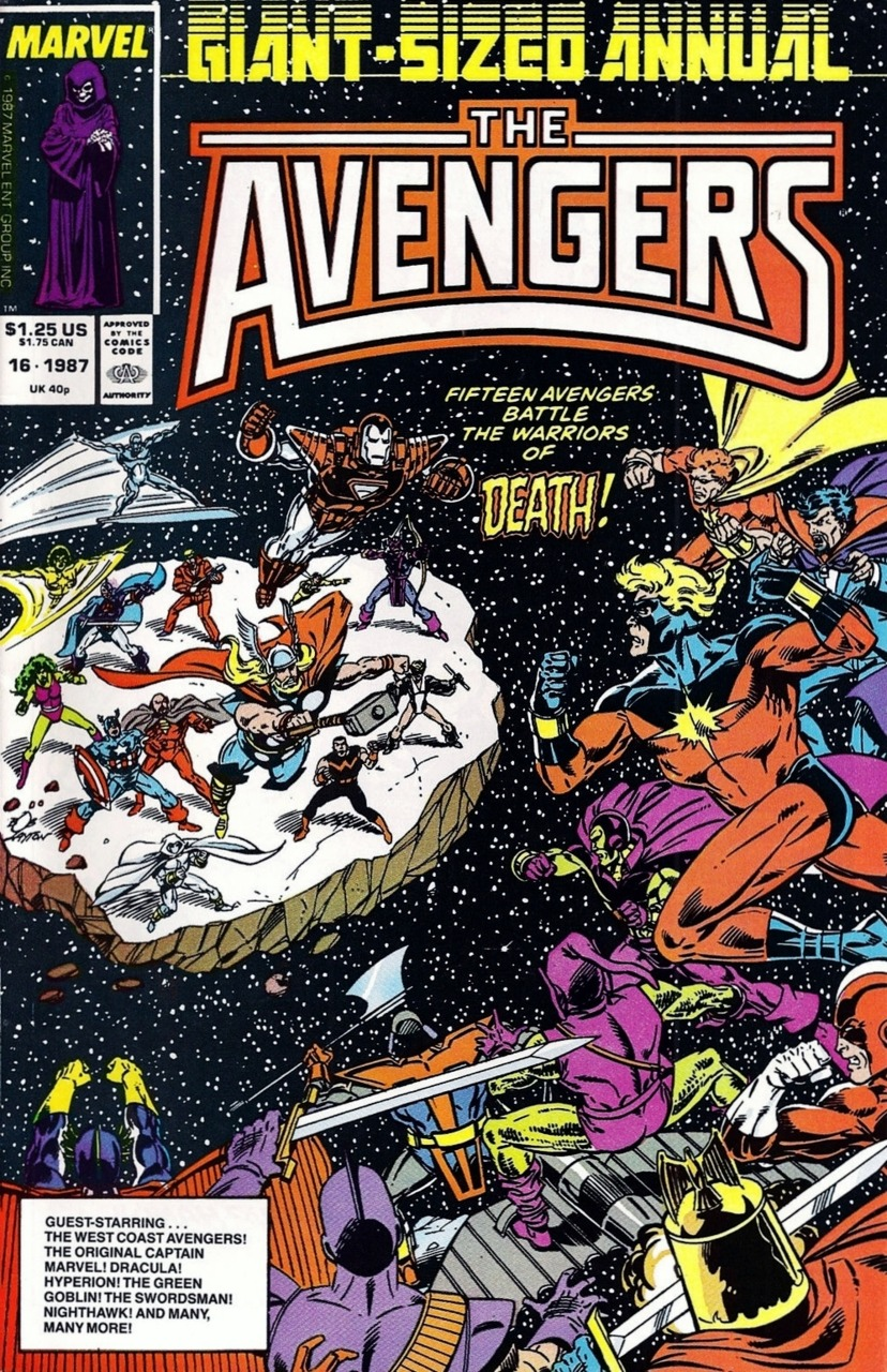 The Avengers Annual #16