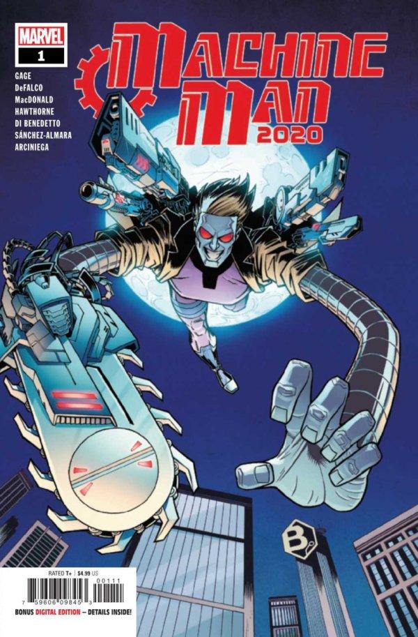 2020 Machine Man #1