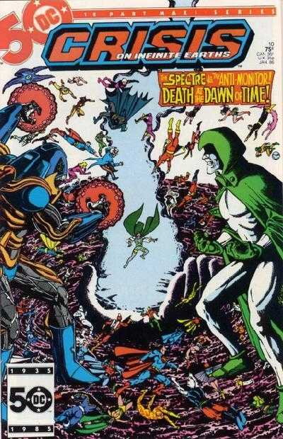 Crisis on Infinite Earths #10